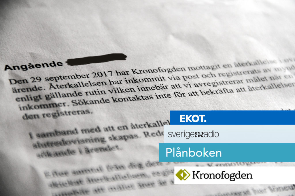 P1 Plånboken - Fredrik Rubin