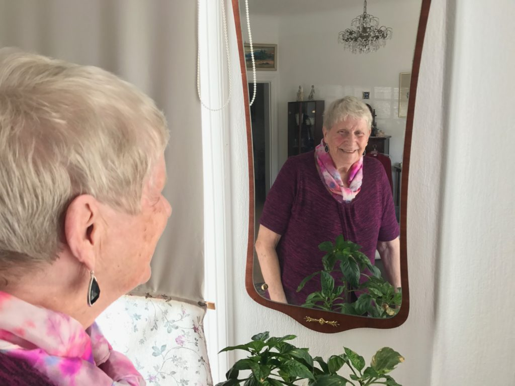Psykisk ohälsa bland äldre.